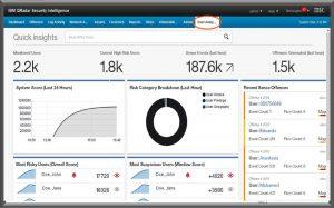Screen shot IBM UBA