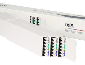 Flex Tap VHD kombiniert 36 Netzwerk-Taps in einer Höheneinheit
