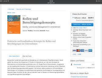 2. Auflage von Rollen- und Berechtigungskonzepte