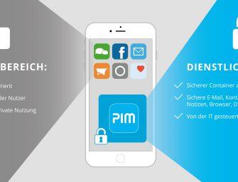 Virtual Solution präsentiert SecurePIM Office auf der it-sa