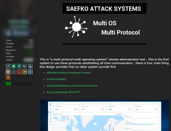 Zscaler warnt vor neuem, vielseitigem Remote Access Trojaner Saefko