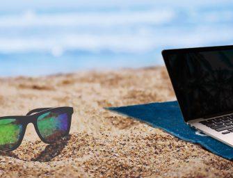 Cybersicherheit im Urlaub und auf Reisen