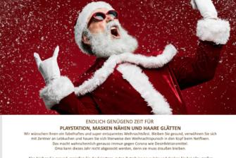Wir lassen den Weihnachtspunk abgehen…